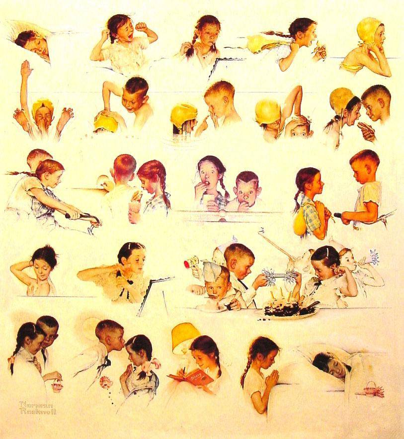 Norman-rockwell-day-in-the-life-of-a-little-girl