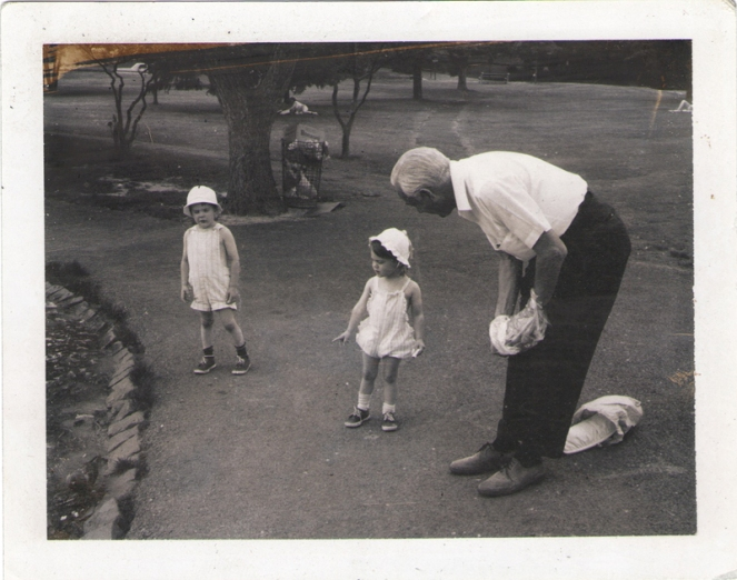 Toddler-J-and-R-with-grandfather-white-outfits
